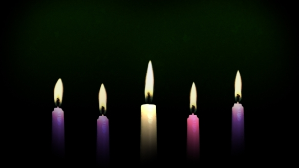 Advent-Christmas candles