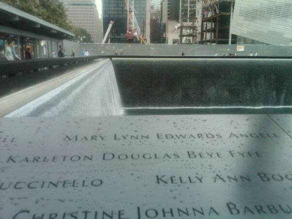 9-11 Ground Zero Memorial