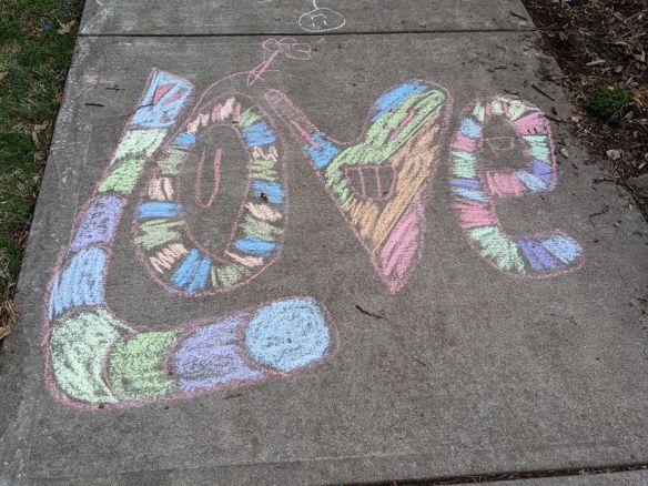 Sidewalk Chalk Artistry - 2020