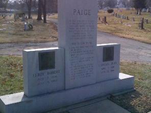 Satchel Paige's grave marker- #2 (2)