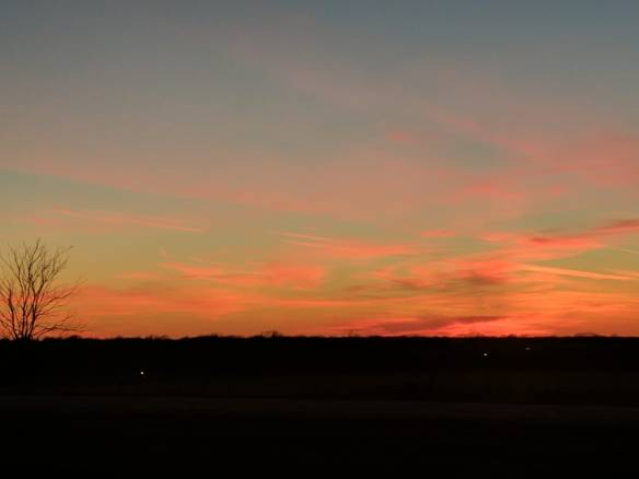 Sunset - Kansas - January 2017