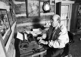 Will Campbell at his desk (2)