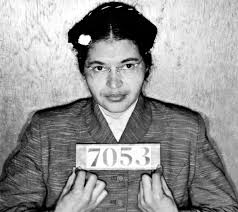 Rosa Parks - booking mug shot.X